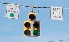 Left Turn Yield on Green
