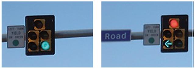 Green Arrow for Left Turn (FHSA.gov)
